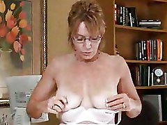 Masturbation Mature Office