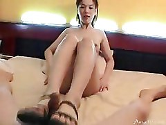 Asian Hairy korean pussy
