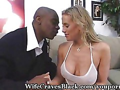 Housewives Interracial blonde oral sex wife