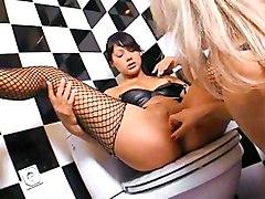Lesbian Anal Lingerie Anal Masturbation Bathroom Black-haired Caucasian Lesbian Lingerie Masturbation Pornstar Toys Vaginal Masturbation Nataly Priscilla Xandy