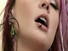 punk emo hot girl boobs fuckin