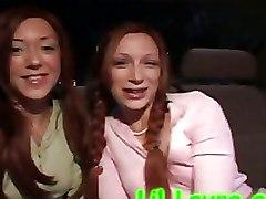 Car Lesbian Public nudity Teen