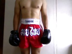 Muay Thai Trunks Fetish