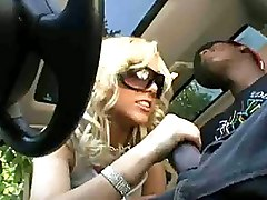 Big Cock Blowjobs Car Interracial