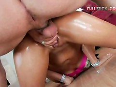 oiled fingering squirting brunette blowjob pussyfucking boots hardcore cumshot