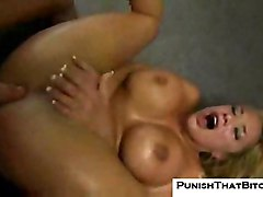 shyla-stylez anal punish bitch rough hardcore sex blonde pornstar big-tits huge-tits fake-tits busty blowjob oral fight angry punishment