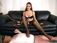 Femdom Stockings Strapon
