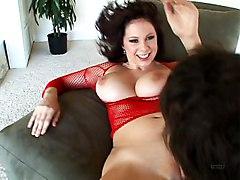 Big Tits Big Tits Black-haired Blowjob Caucasian Couple Cum Shot Masturbation Oral Sex Pornstar Titfuck Vaginal Masturbation Vaginal Sex Gianna Michaels