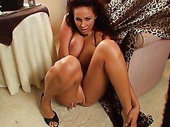 Masturbation Brunette High Heels Masturbation Solo Girl Vaginal Masturbation Gianna Michaels