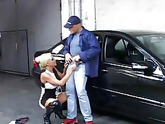 FFM Granny car office sex
