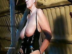 BDSM Lezdom Slavegirl Two Mistresses blonde slave european amateur submissive heavy femdom lesbian bdsm lesbian domination lesbian humiliation