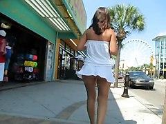 Flashing Public Nudity Upskirts