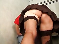 Hardcore Mature Stockings