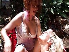Lesbian Blonde Redhead Blonde Caucasian Lesbian Licking Vagina Masturbation Oral Sex Outdoor Pornstar Redhead Shaved Tattoos Toys Tribbing Vaginal Masturbation Audrey Hollander Cindy Crawford