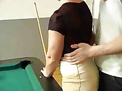 Blondes Mature billiard hardcore older
