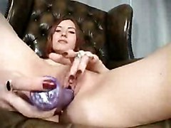 Teens Redhead Caucasian Couple Masturbation Redhead Shaved Teen Toys Vaginal Masturbation