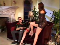 layla jade and chelsea shave their hairy pussy
