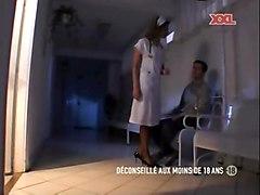 blowljob cumshot facial pornstar stockings caroline cage uniform nurse