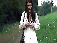 Amateur Outdoor Public nudity