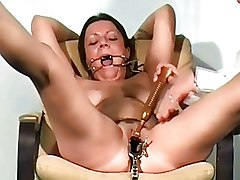 BDSM Bizarre Medical Tools Medical speculum bizarre pussy pain dental gagged doctor fetish filthy kinky punishmentsenglish submissive restrained slavegirl