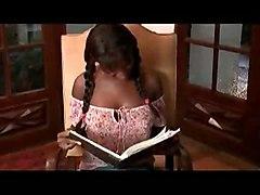 Ebony Teen Student   Old Teacher
