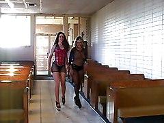 Big Tits Lesbian Big Tits Brunette Caucasian High Heels Lesbian Licking Vagina Masturbation Oral Sex Pantyhose Toys Vaginal Masturbation Lena Ramon