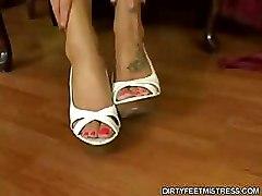 Foot Fetish Long Legs Soles Toe Sucking