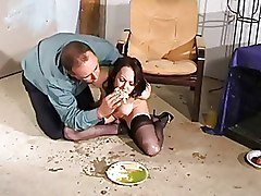 Amateur BDSM Humiliation dirty messy weird