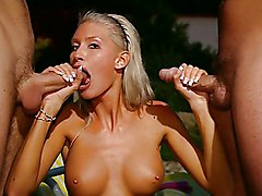 Anal Group Blonde Double Penetration Anal Sex Blonde Blowjob Caucasian Double Penetration Handjob Licking Vagina Masturbation Oral Sex Outdoor Piercings Pornstar Shaved Threesome Vaginal Sex Brigitta Bulgari