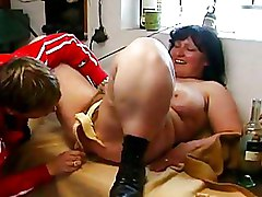 BBW Moms and Boys big tits insertions mature brunette