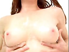 fingering redhead wet longhair masturbation shower shaving