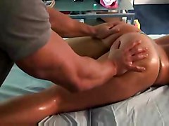 alanah-rae massage hardcore sex doggystyle alanah masseuse oiled oily pornstar big-tits boobs blonde busty fake-tits hot sexy booty curvy