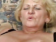 BBW Granny older riding