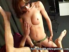 sex hardcore threesome shemale ladyboy trannie