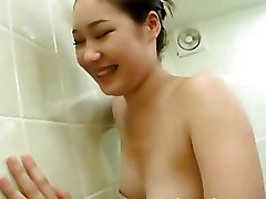 Asian Ass Licking Bathroom Group Orgy