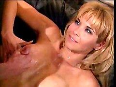 Blonde Blonde Caucasian Couple Cum Shot Office Vaginal Sex