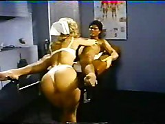 Blowjob Blonde Lingerie Vintage Blonde Blowjob Caucasian Couple Hospital Licking Vagina Lingerie Muscular Oral Sex Pornstar Position 69 Stockings Uniform Vintage