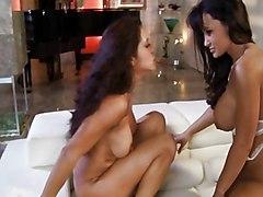 Big Tits Group Big Tits Brunette Caucasian Cum Shot Licking Vagina Oral Sex Pornstar Stockings Threesome Vaginal Sex Francesca Le Lisa Ann