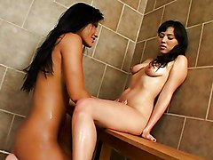 After Shower Having Sex With Asian
