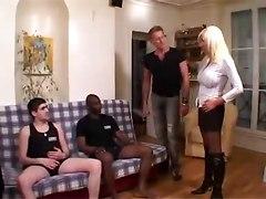 big tits milf gangbang blonde
