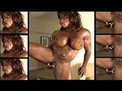 Masturbation Fingers Nude Strip Tease DildoSolo Big Boobs Ebony Softcore