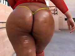 cumshot black oiled blowjob ebony fishnet booty blackwoman fat bigass pussyfucking bbw