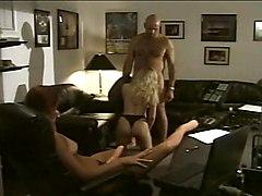 Anal Strapon Threesomes