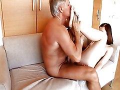 Anal Anal Sex Blowjob Brunette Caucasian Couple Cum Shot Footjob Masturbation Oral Sex Rimming Shaved Vaginal Masturbation Vaginal Sex Young & Old Abigaile Johnson