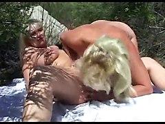 Lesbians Matures Public Nudity