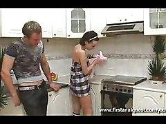 Half hose Kitchen anal