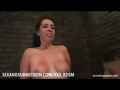 submission bondage bondage bdsm brunette babe masturbation
