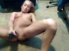 amateur homemade hot milf solo blonde toying