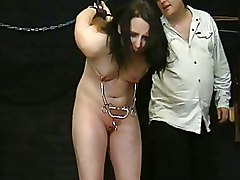 BDSM Bondage Torture crying extreme fetish nipple torture pain tears