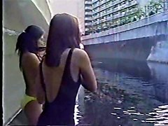 Asian Flashing Public Nudity